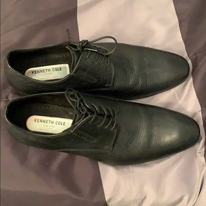 Kenneth Cole NY Mens mix Oxford shoes